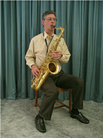 Good saxophone posture