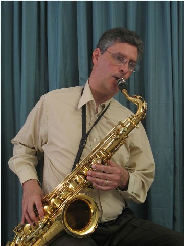 bad posture saxophone head cocked to the left
