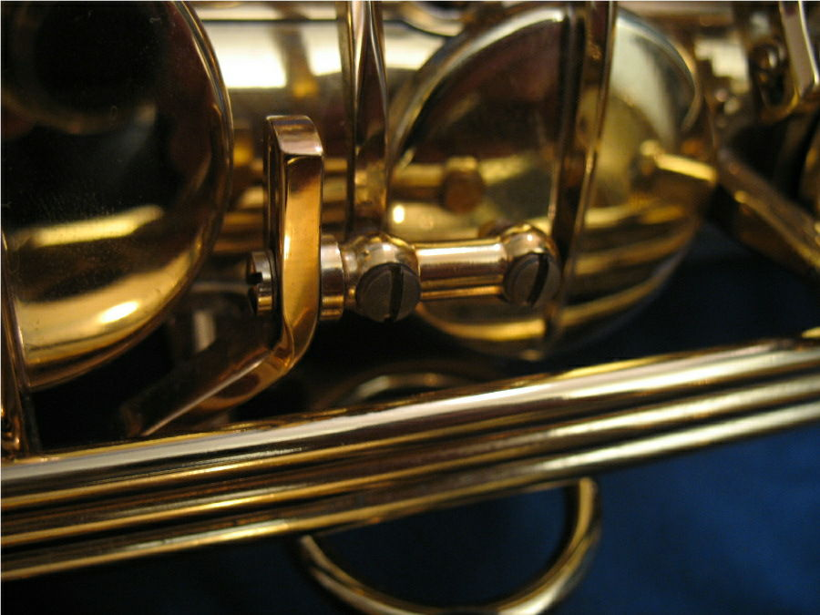 saxophone adjustment screws