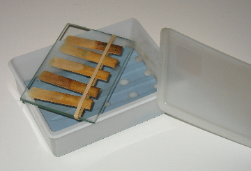 salt box for sax reeds