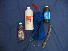 saxophone cleaning supplies