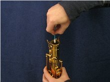 saxophone body receiver