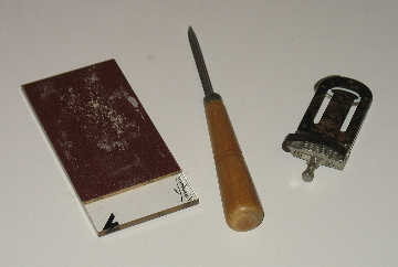 Sax Reed Working Tools